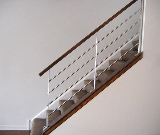 Milk Design Company Railings Modern Staircase By