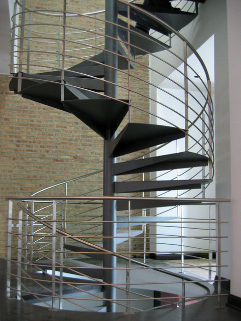 Milk Design Company Stair and Railing modern-staircase