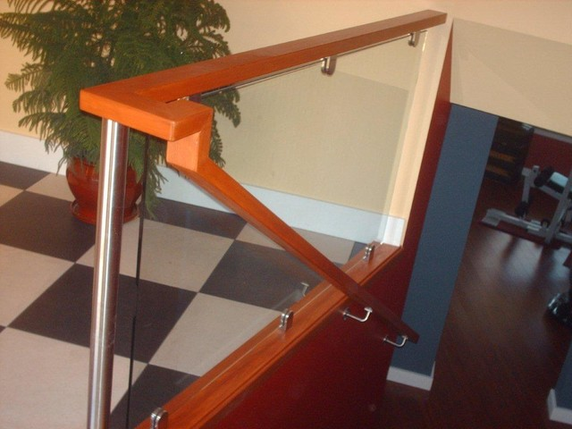 Miller project contemporary-staircase