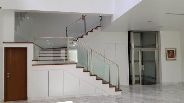 Minimalist Home in Malaysia Modern Staircase Other