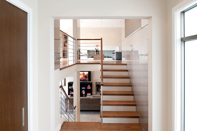Minimalist Midcentury - Modern - Staircase - vancouver - by Van Sickle Design Consultants Inc