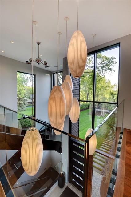Minnetonka Modern contemporary-staircase