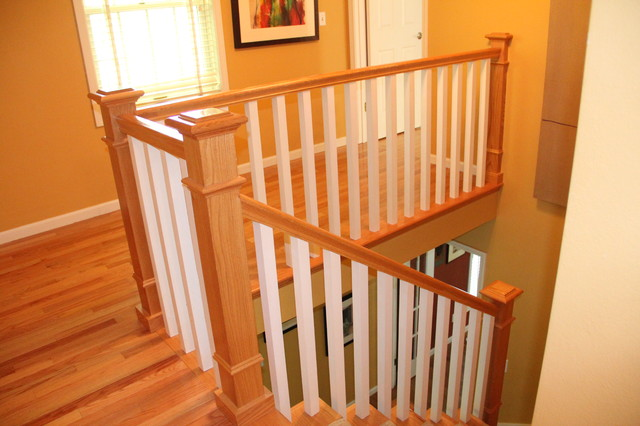 Misc. Projects traditional-staircase