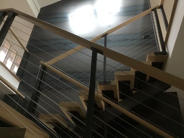 Example of a staircase design in Indianapolis