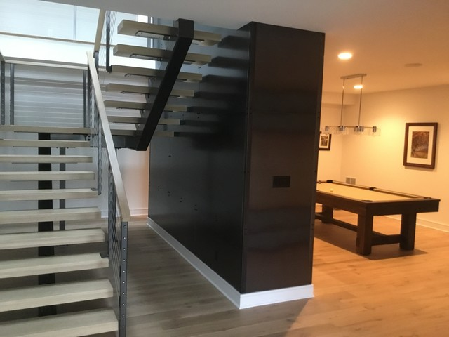Inspiration for a staircase remodel in Indianapolis