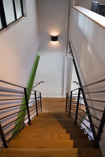 MODdisplays Office Renovation modern-staircase