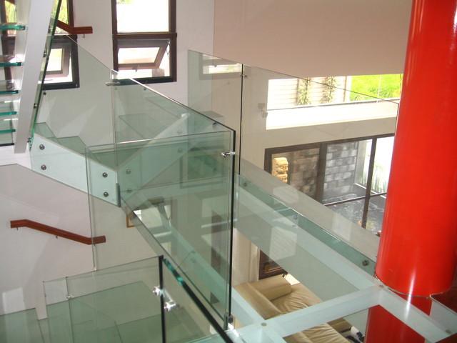 Modern Asian modern-staircase