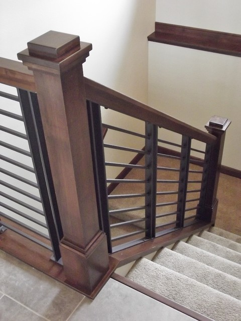Modern contemporary and transitional railings Transitional contemporary