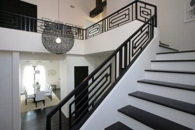 Modern Railing Designs For Stairs 2
