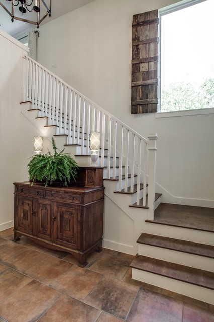 Modern Farmhouse Farmhouse Staircase Dallas By