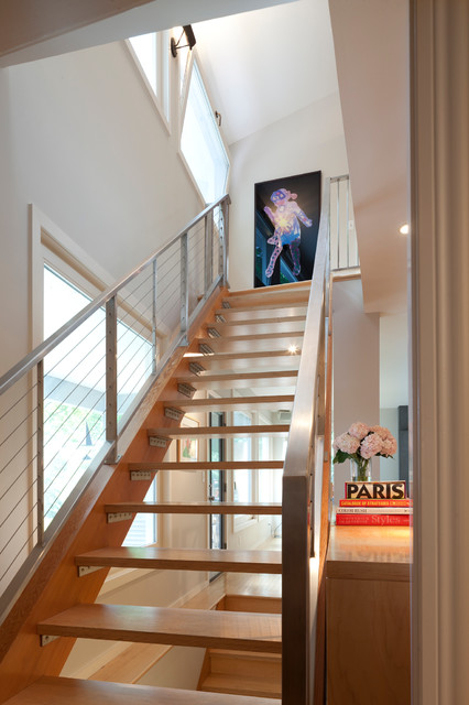 Modern Farmhouse Modern Staircase Minneapolis By