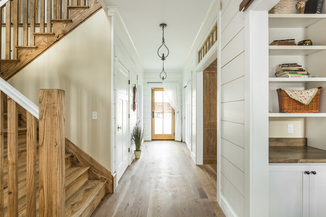 Modern Farmhouse Country Staircase Indianapolis By