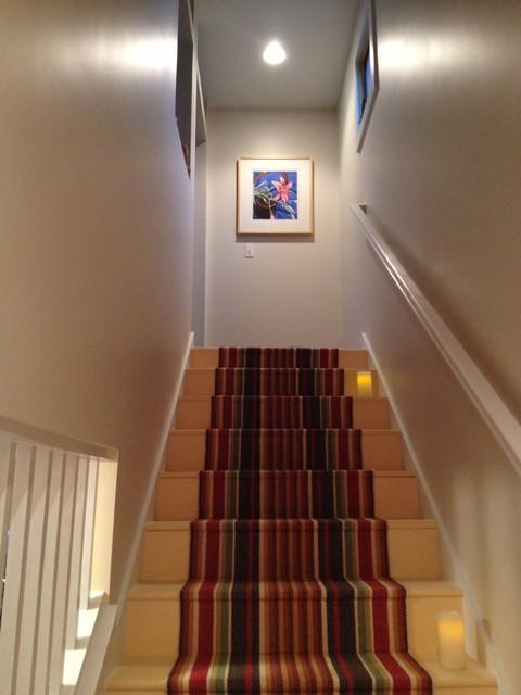 Modern Hallway Stairs Modern Staircase Grand Rapids