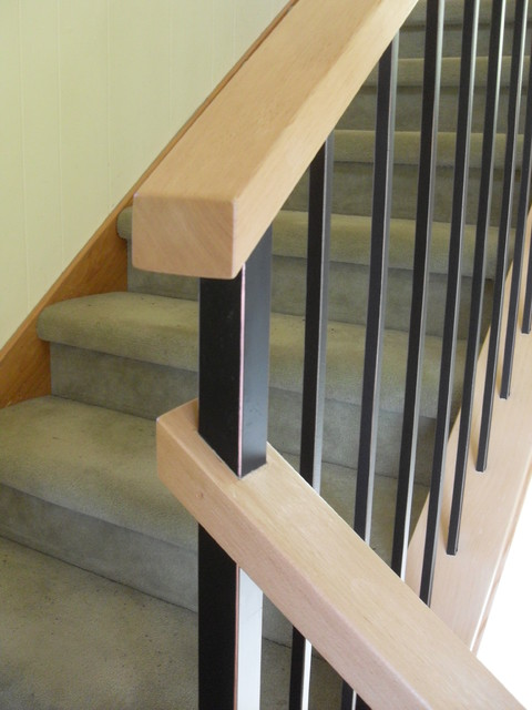 Modern Handrail Systems Traditional Staircase