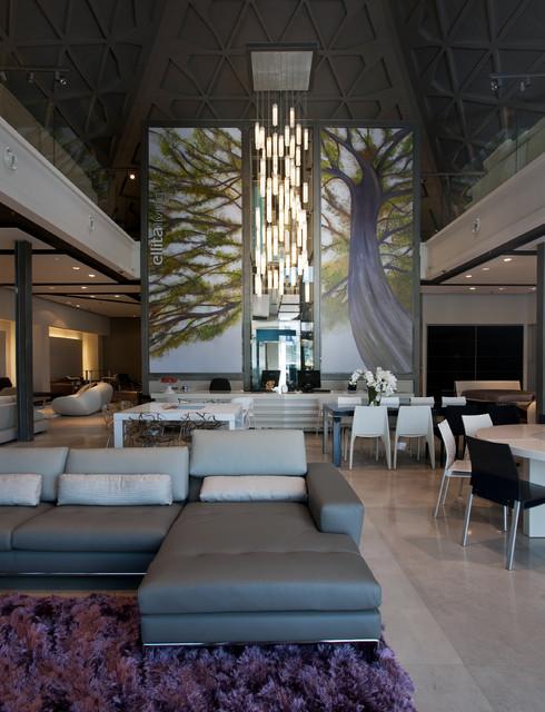 Modern Lighting For Foyer Oversized White