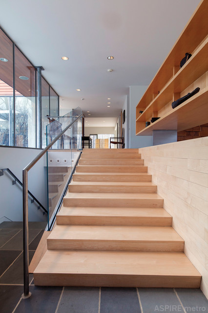 Modern Minimalism contemporary-staircase