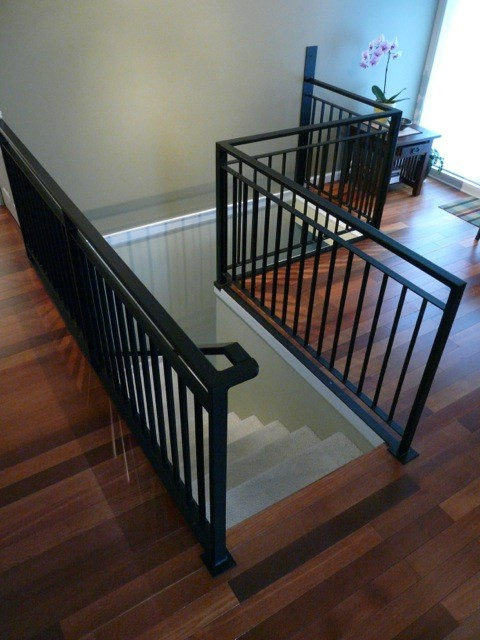 Modern Railings Vancouver Contemporary Staircase