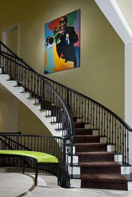 Modern Remodel modern-staircase