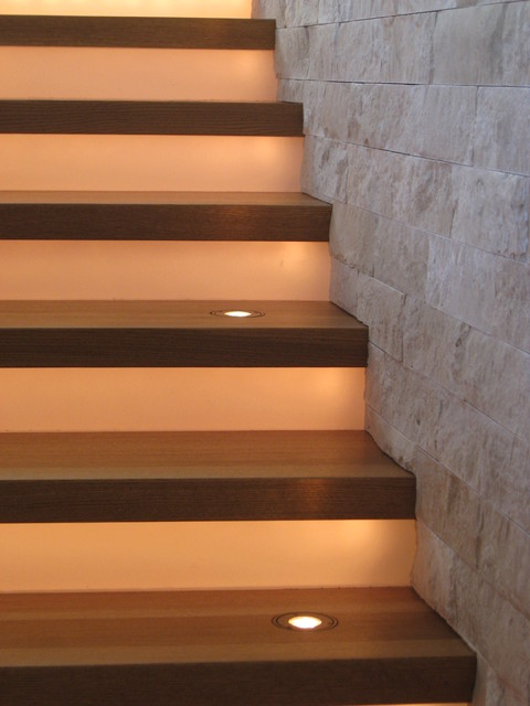 Modern Stair Lighting - Modern - Staircase - Denver