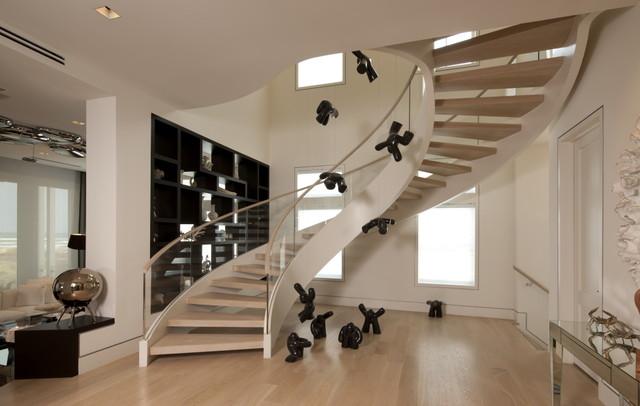 Modern Staircase Modern Staircase Other By David De La Garza ZURDODGS