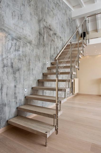 Cast Modern Staircase Modern Staircase San