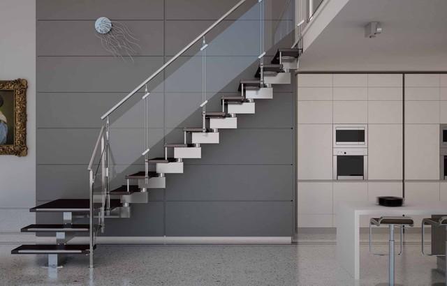 Modern Staircase Design cast - modern staircase - modern - staircase - san francisco -