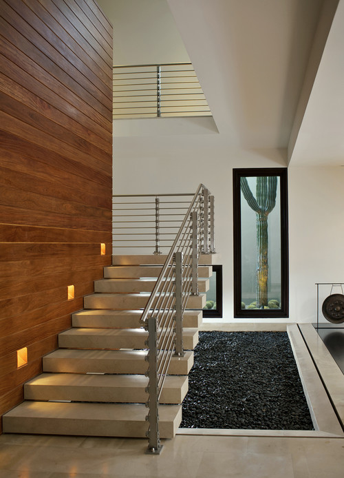 Modern staircase more info for Gorgeous modern staircase wall design