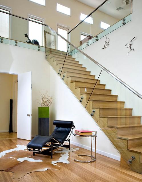 Modern staircase contemporary-staircase