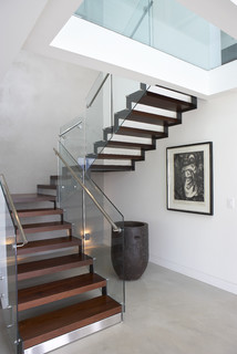 free modern staircase with tipos de escaleras para interiores - Escaleras Interiores