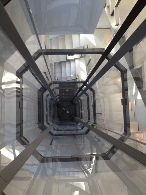 Octagonal Glass Elevator By Nationwide Lifts Modern