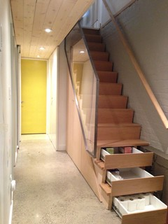 Christie Pits Studio And Residence Modern Staircase