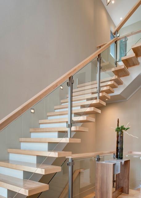 Marvelous Modern Urban Infill Modern Staircase