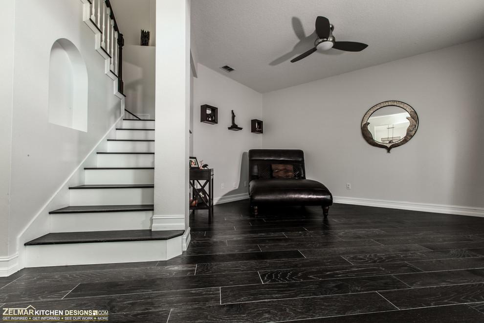 Modern (Waypoint) Zelmar Home Remodel - Modern - Staircase ...