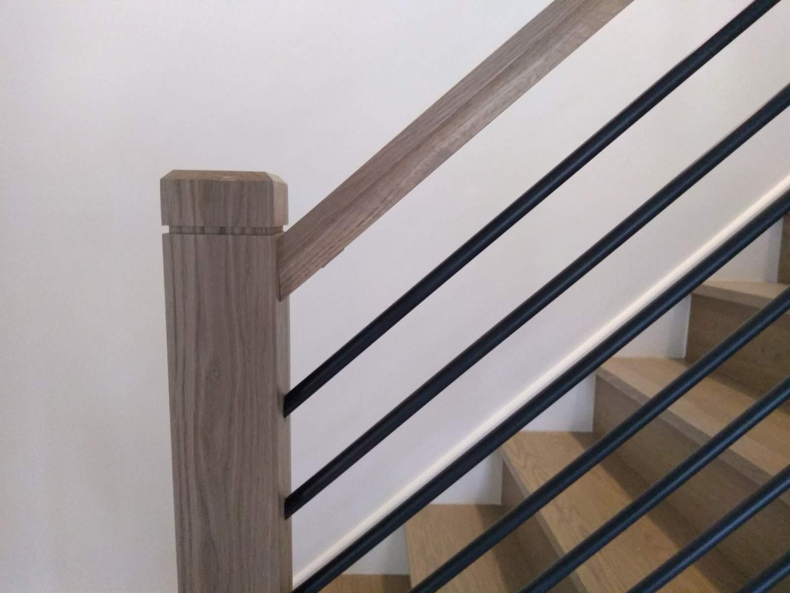 Modern White Oak Horizontal