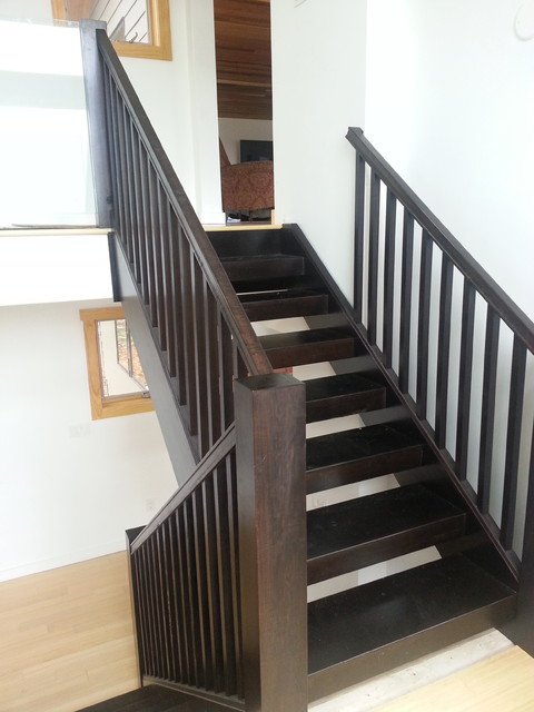 Wonderful Modern Wood Staircase Modern Staircase