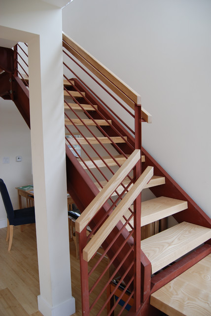 Montcalm Street contemporary-staircase