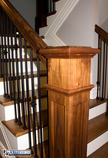 Montgomery New Construction Transitional Staircase Cincinnati By Kelly Brothers Home