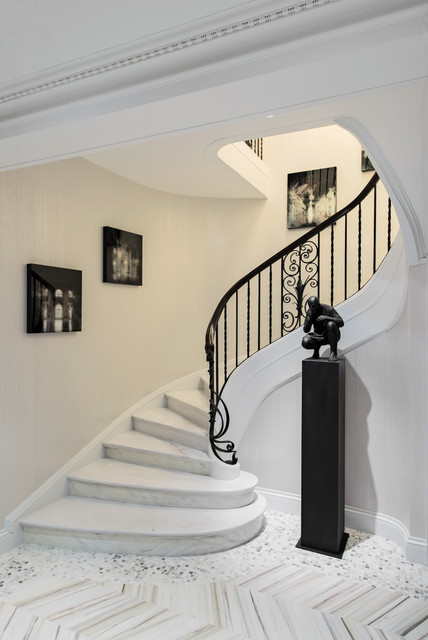 Montreal at its finest contemporary staircase for Interior staircase designs india