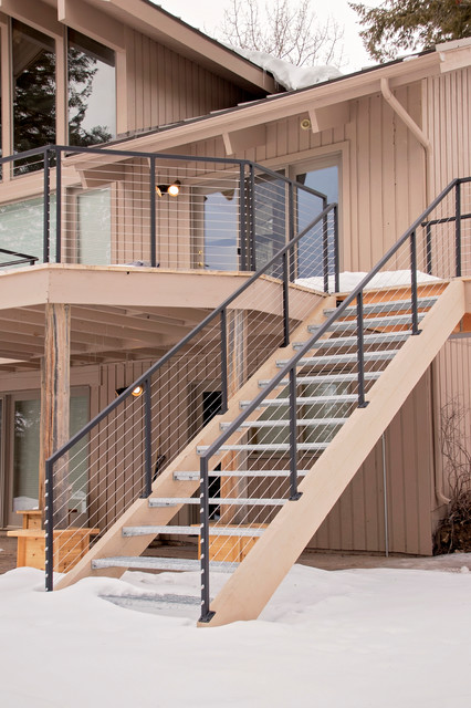 Morley Cable Rail - Modern - Staircase - Other - by PC