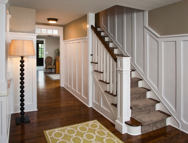 Morrisville Residence Traditional Staircase