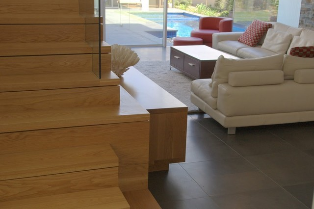 Mosman New Build contemporary staircase