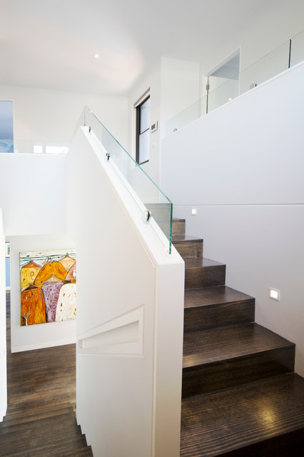 Mount martha residence modern staircase other metro for Outdoor furniture yatala