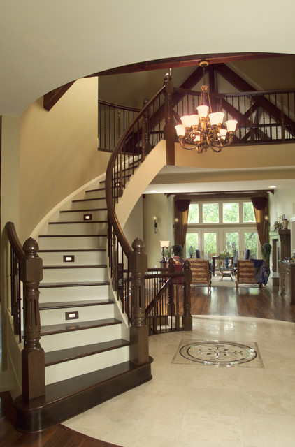 Mount Royal traditional-staircase