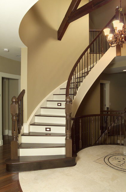 Mount Royal - Traditional - Staircase - calgary - by Maillot Homes
