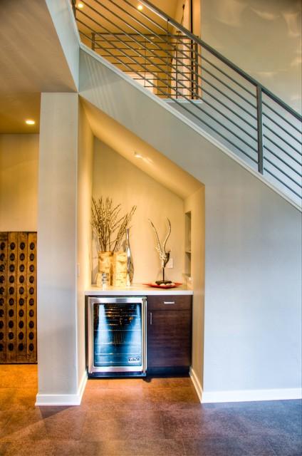 Mountain Modern modern-staircase