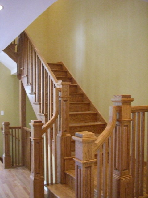Mt. Prospect Residence traditional staircase