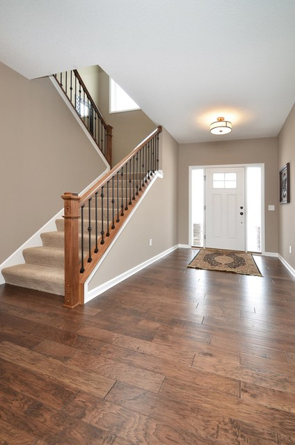 Front Foyer Staircase : Mud room staircase front foyer traditional