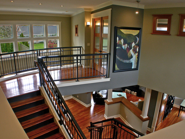 Mukilteo Style contemporary-staircase