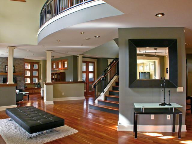 Mukilteo Style contemporary-staircase
