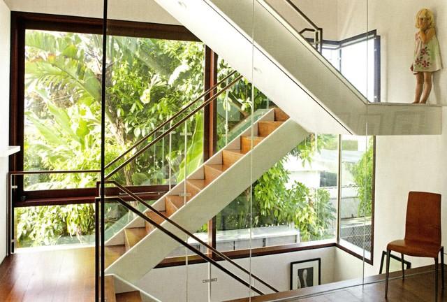 MuSh Residence contemporary-staircase